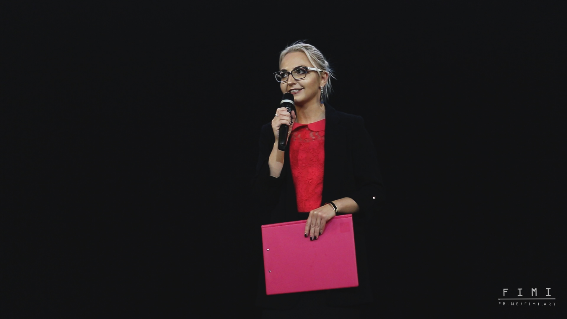 Justyna Wojciechowska prowadząca iwspółorganizator eventu Różowa Wstążka wŚwidnicy