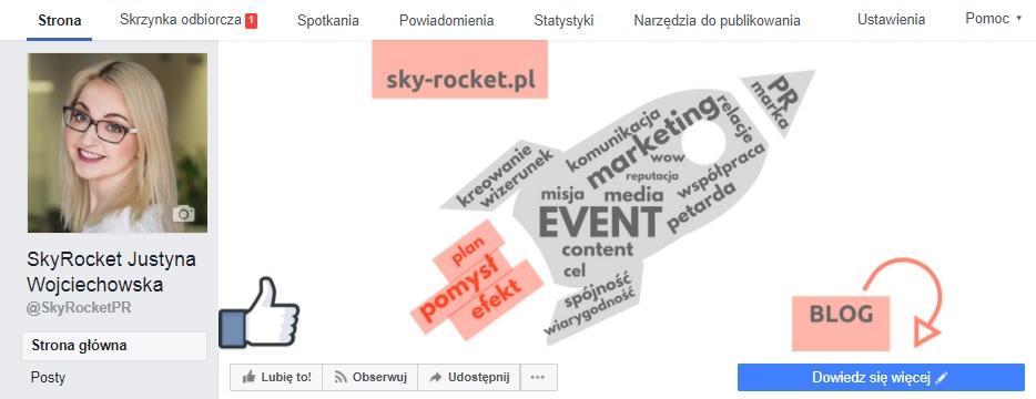 fanpage skyrocket justyna wojciechowska